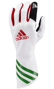Adidas XLT Kart Gloves White/Red/Green