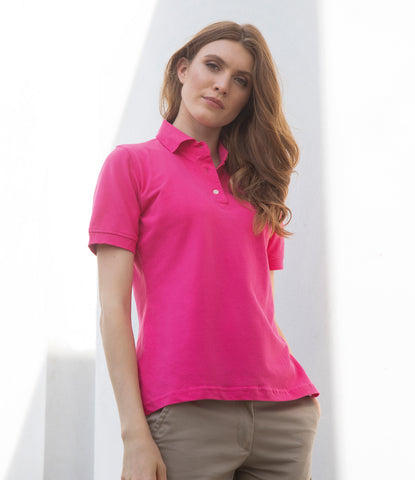Henbury Ladies Classic Cotton Pique Polo Shirt