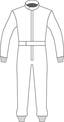 Racesuit Template Design 8