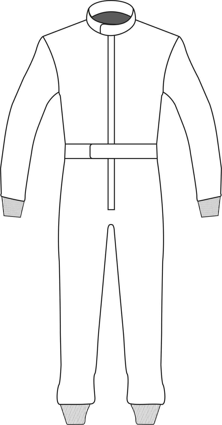 Racesuit Template Design 05