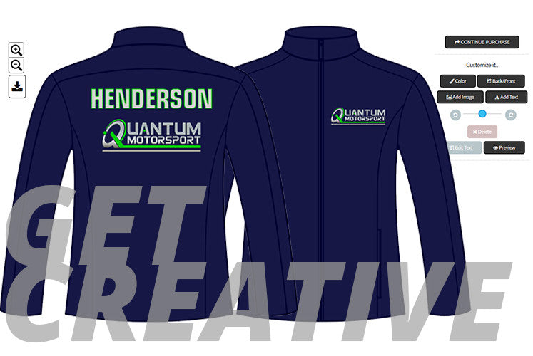 Design your motorsport teamwear