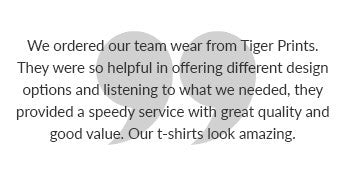 Customer reviews for Tiger Prints Teamwear on Trustpilot