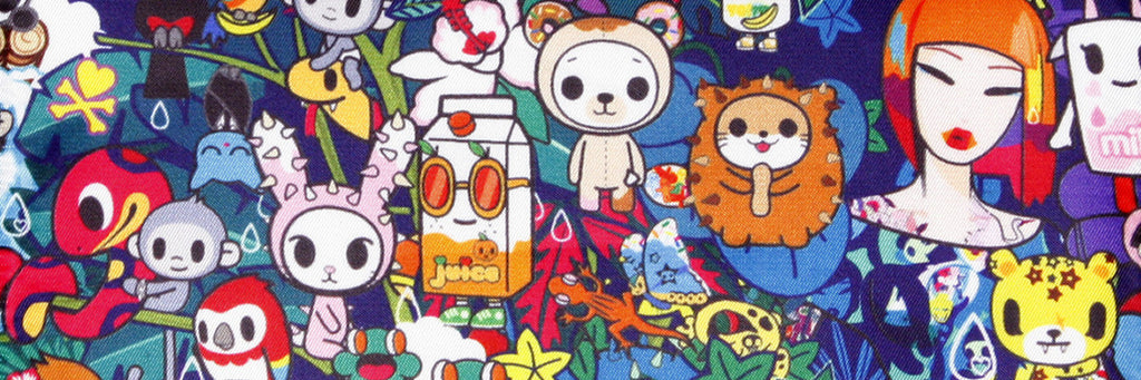 Tokidoki Rainforest in stock - with print placement on most items!