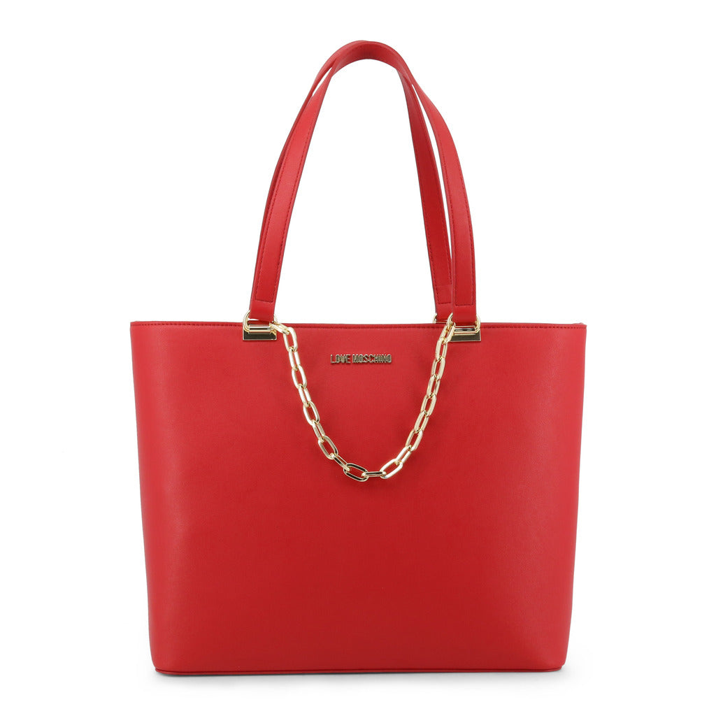 Love Moschino Shopper With Chain