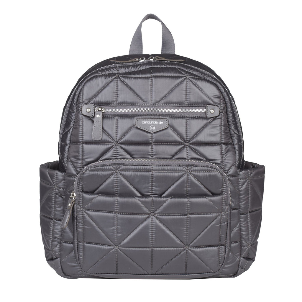 TWELVElittle Companion Backpack in Platinum
