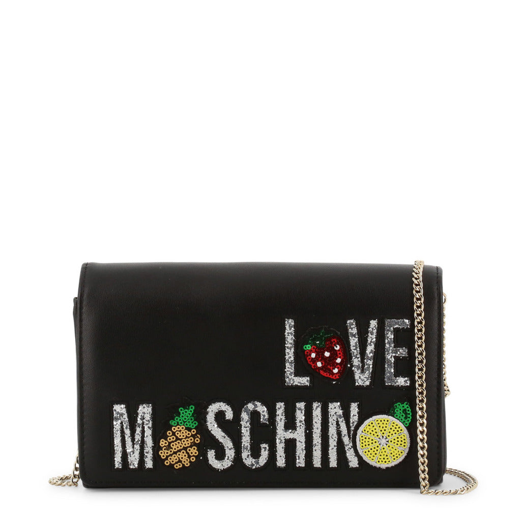 Love Moschino Evening Bag With Sequin Logo