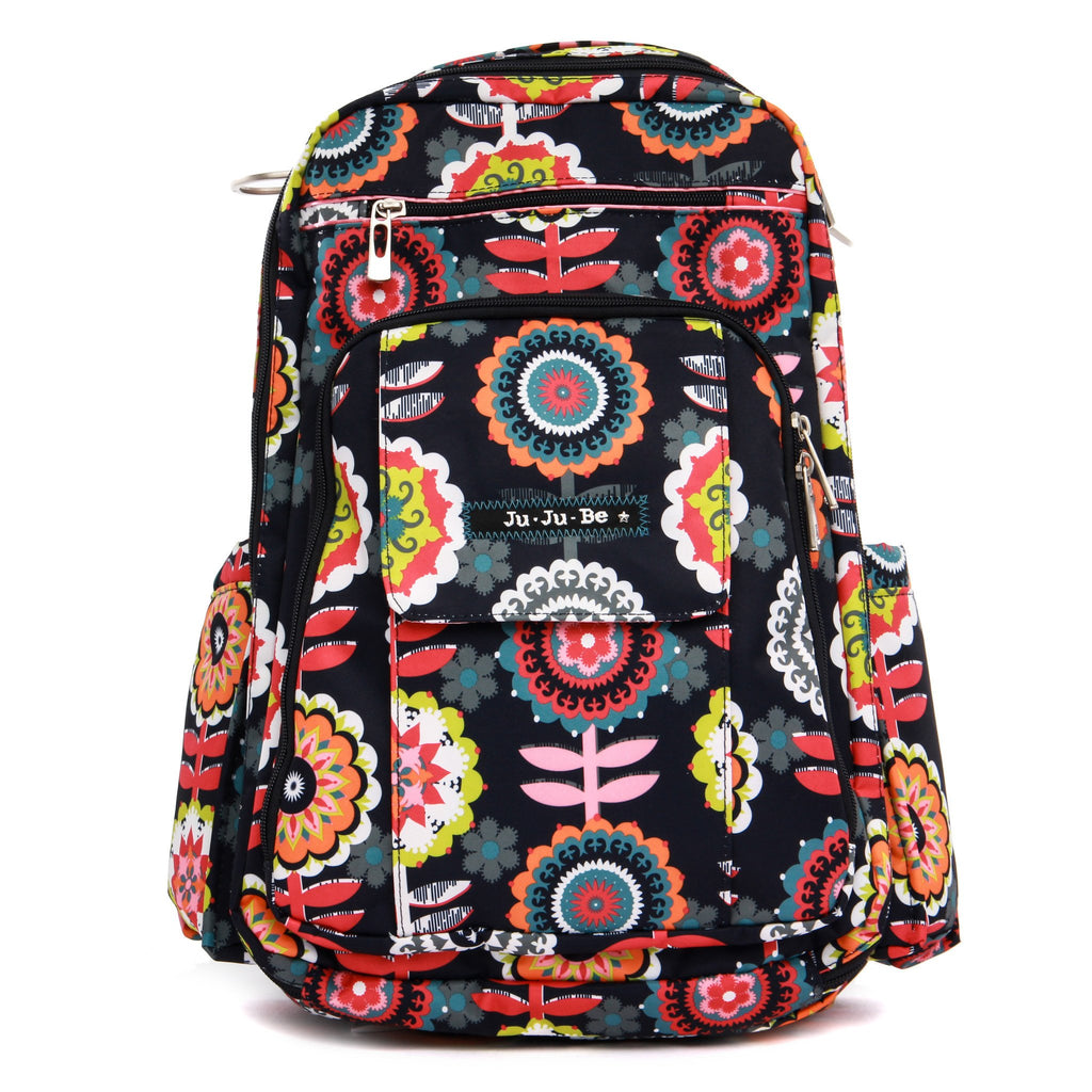 Ju-Ju-Be Be Right Back changing backpack Dancing Dahlias *