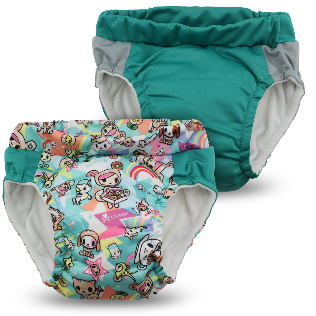 tokidoki x Kanga Care Lil Learnerz Training Pants - tokiSweet & Peacock 2 pack