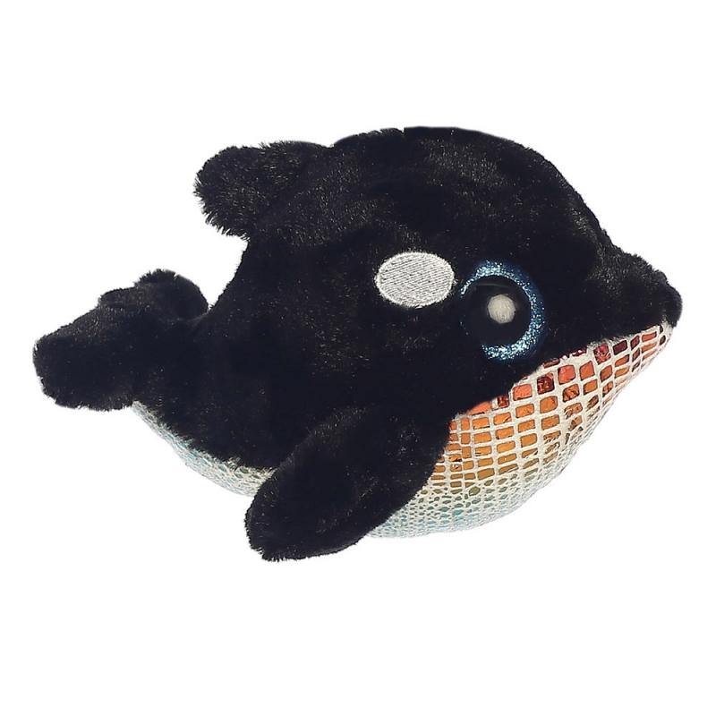 Blackee Orca Whale  plush toy 5In / 13 cm