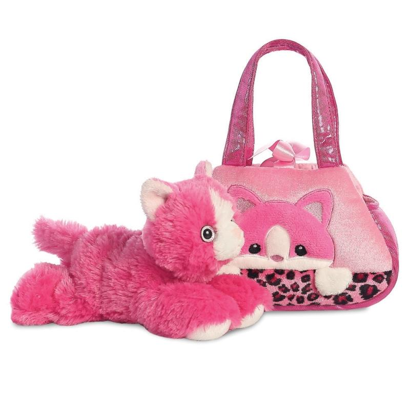 Fancy Pal Peek-a-Boo Kitty plush toy 8In / 20 cm