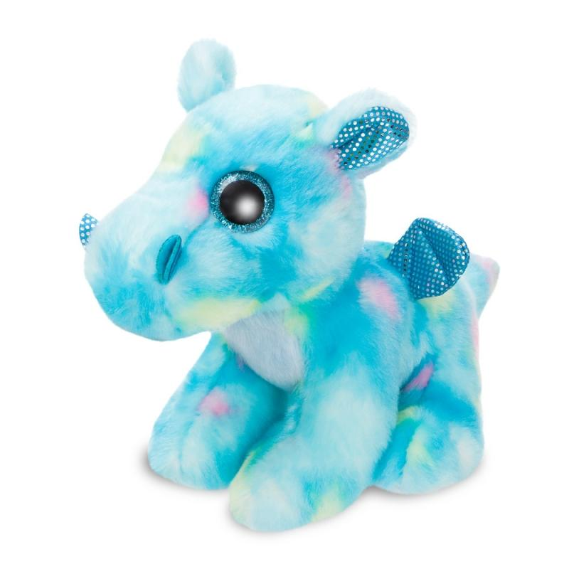 Sparkle Tales Dragon Storm Blue plush toy 7In / 18 cm