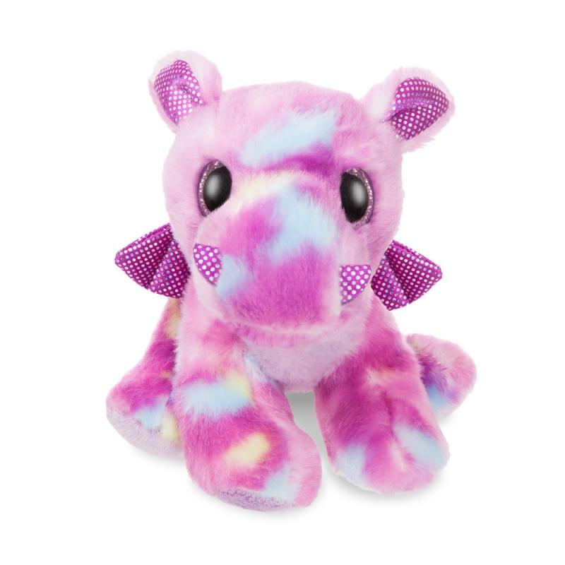 Sparkle Tales Dragon Amethi Purple plush toy 7In / 18 cm