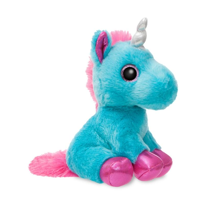 Sparkle Tales Moonbeam Unicorn plush toy 7In / 18 cm