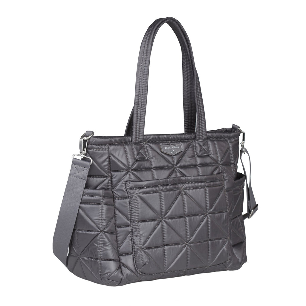 TWELVElittle Carry Love Tote in Platinum