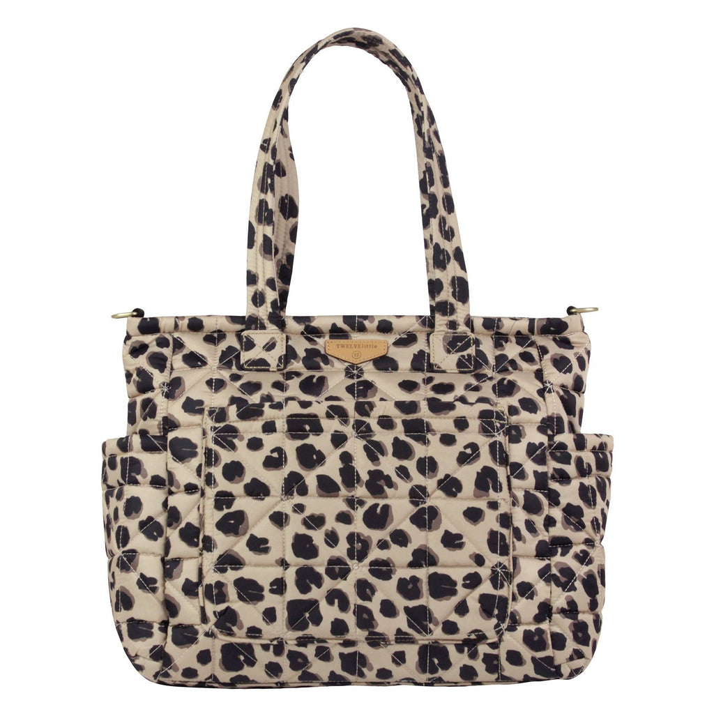 TWELVElittle Carry Love Tote in Leopard