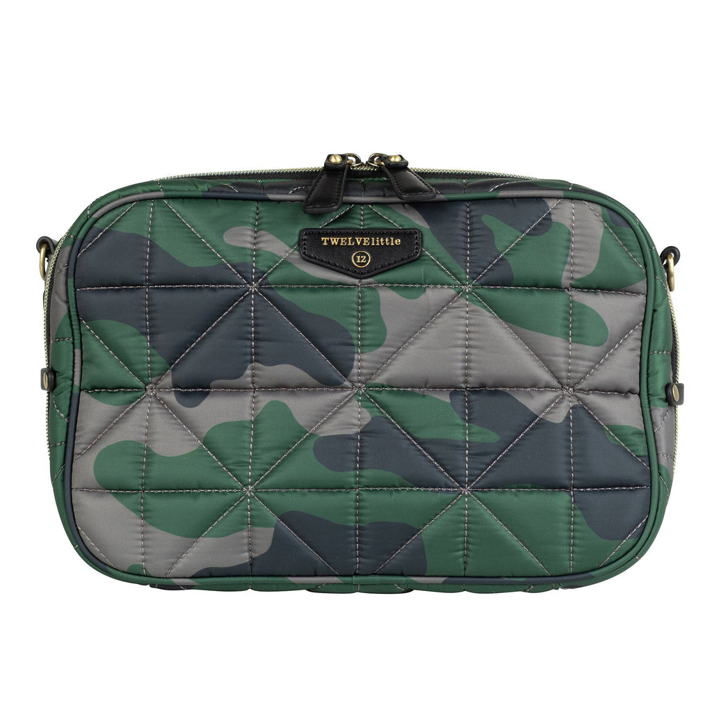TWELVElittle 12Little Diaper Clutch in Camo Print