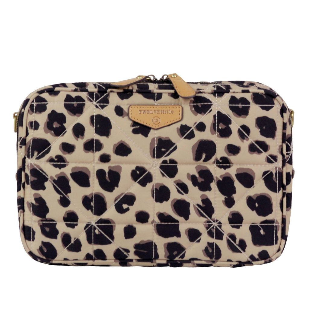 TWELVElittle 12Little Diaper Clutch in Leopard