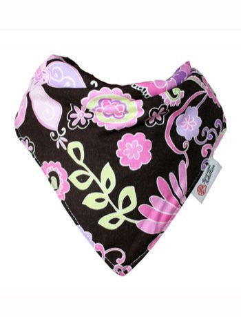 Rose and Rebellion bib Purple Haze