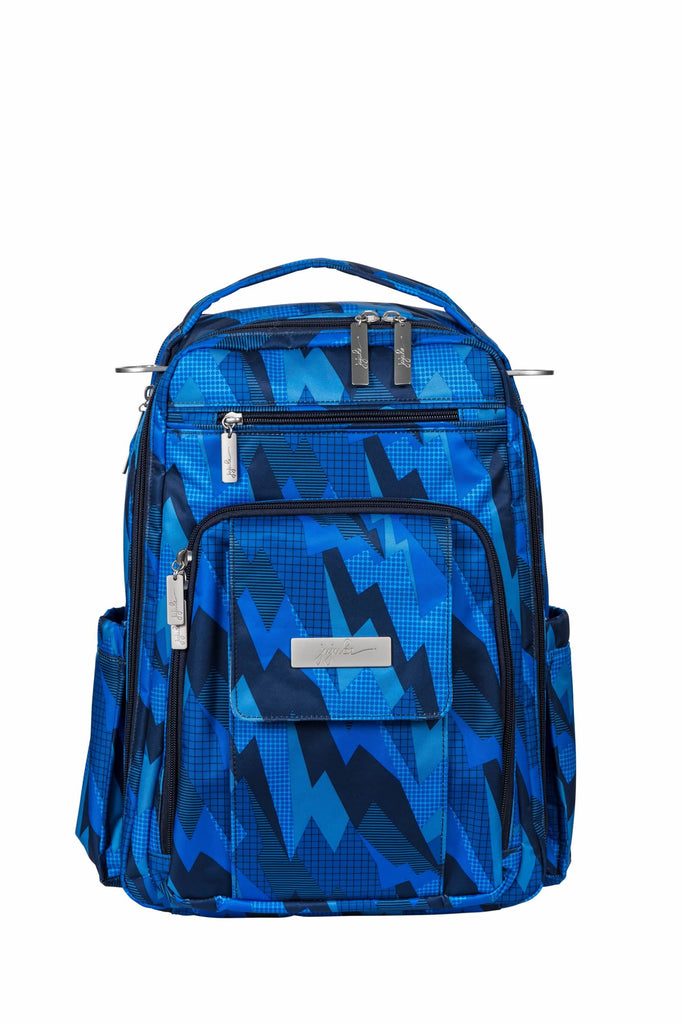 Ju-Ju-Be Onyx Be Right Back changing backpack Blue Steel