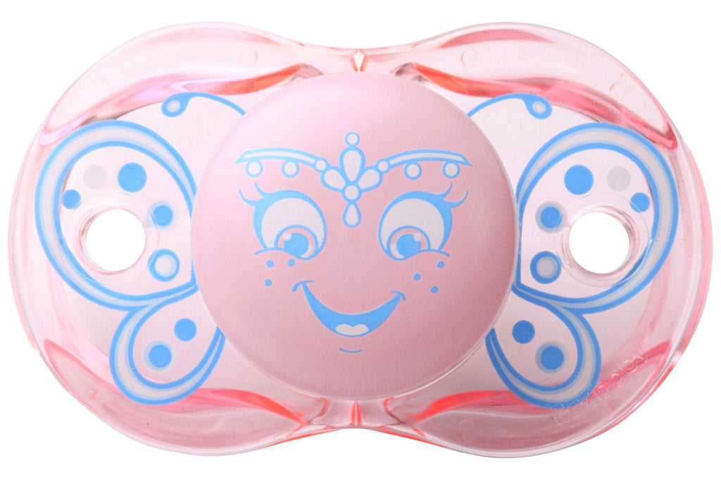 RaZ-Baby Keep-It-Kleen pacifier Betty Butterfly