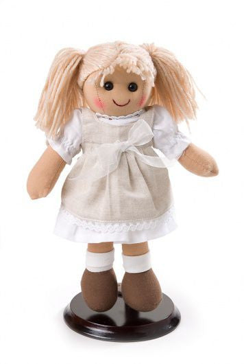 Pomme-Pidou traditional rag doll Emma, 25 cm