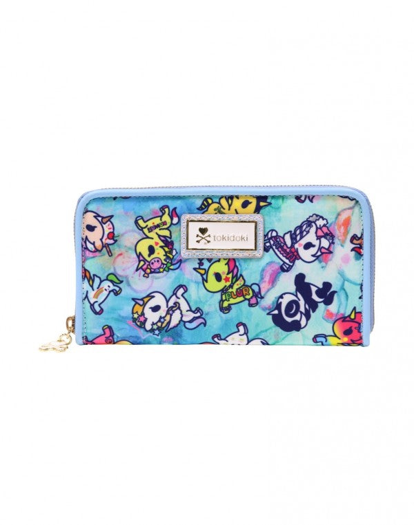 Tokidoki Watercolor Paradise Long Wallet