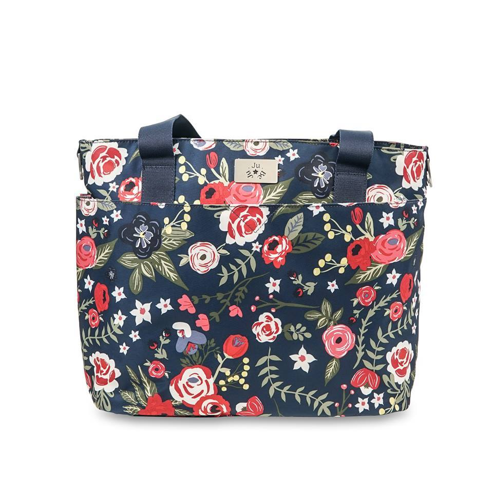 Ju-Ju-Be Encore Tote in Midnight Posy