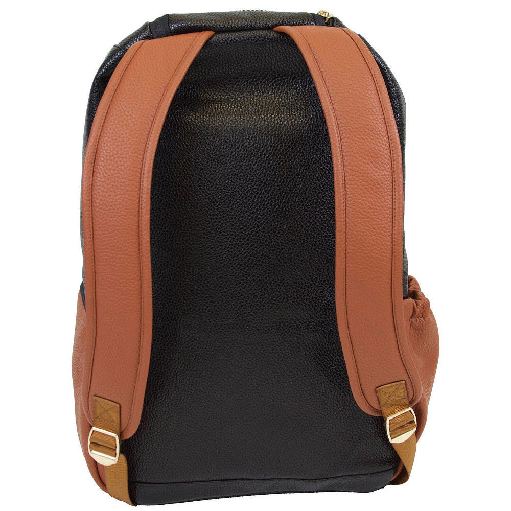 Itzy Ritzy Boss Diaper Backpack in Coffee & Cream