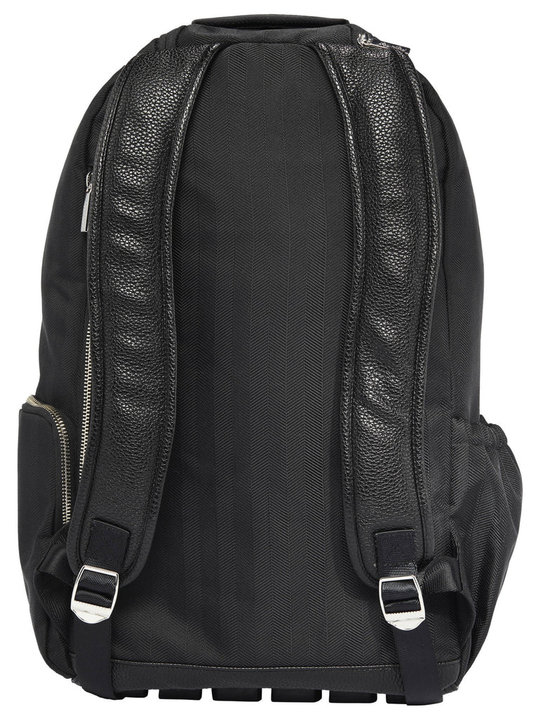 Itzy Ritzy Boss Diaper Backpack in Herringbone