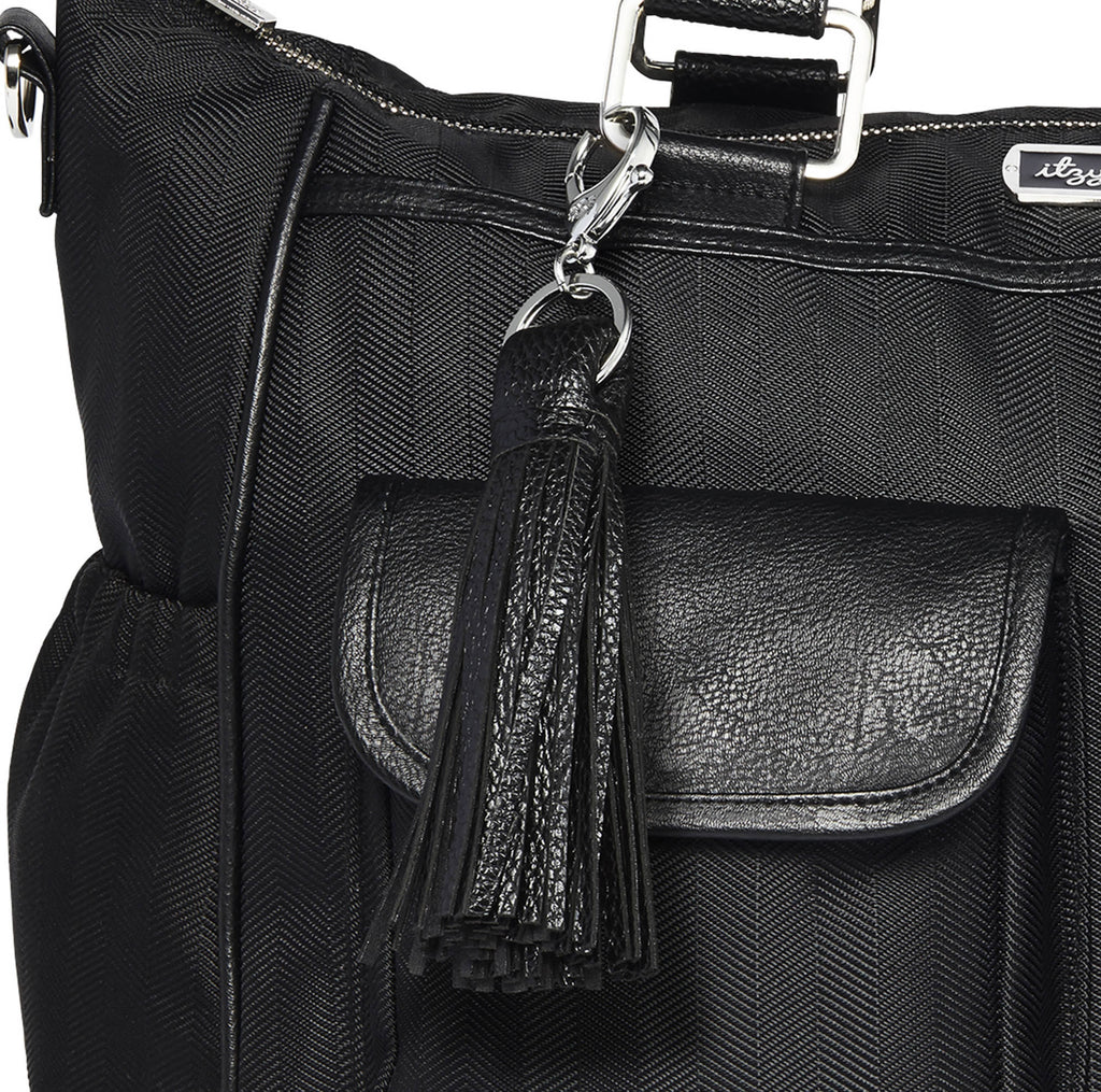 Itzy Ritzy Triple Threat Convertible Diaper Bag in Herringbone