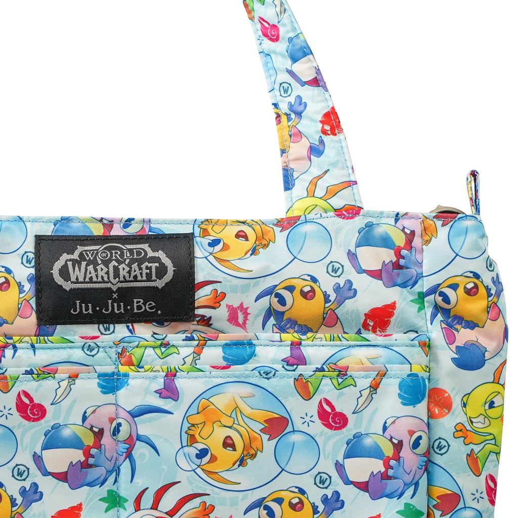 World of Warcraft x Ju-Ju-Be Be Light changing bag in March of the Murlocs *