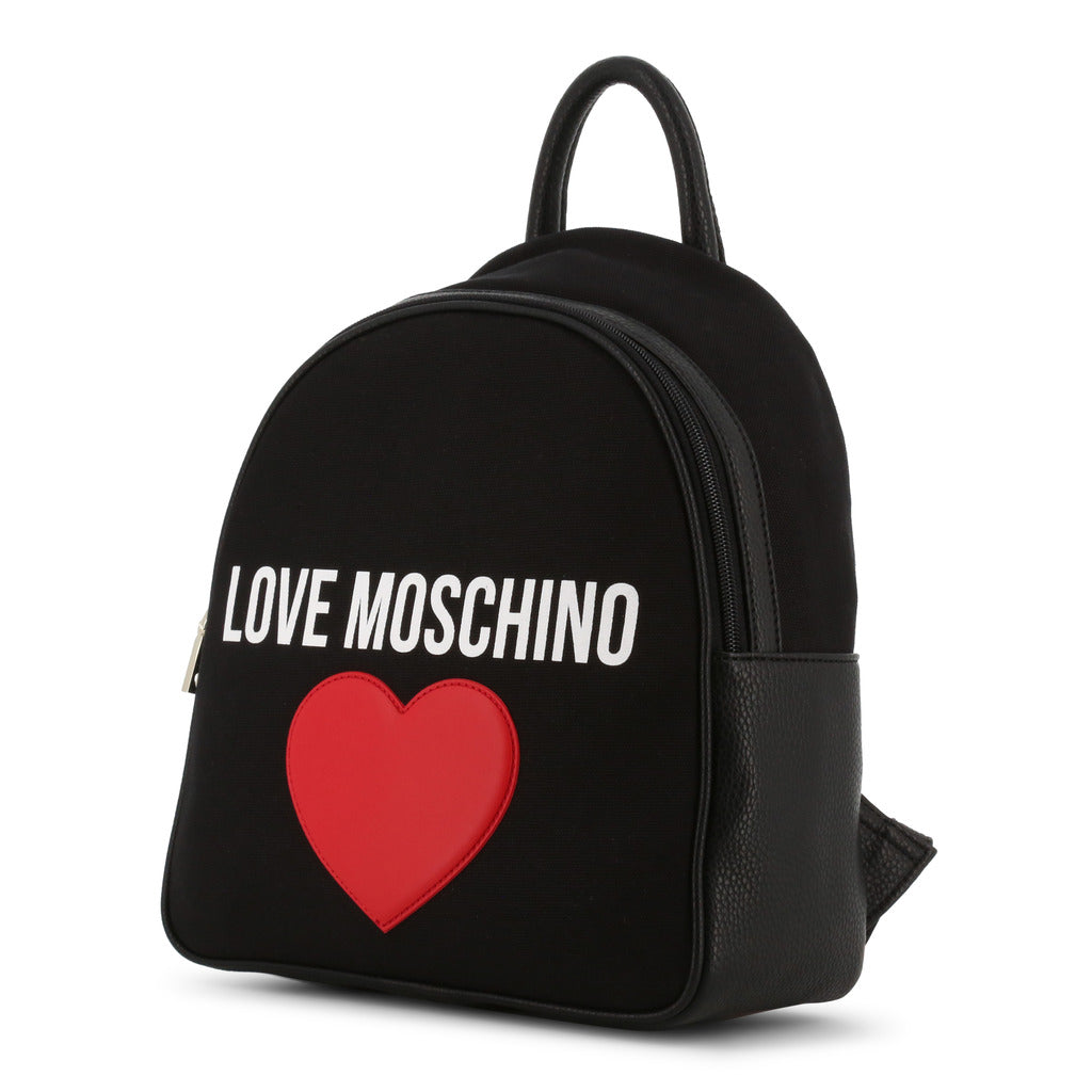 Love Moschino Patched Heart Backpack