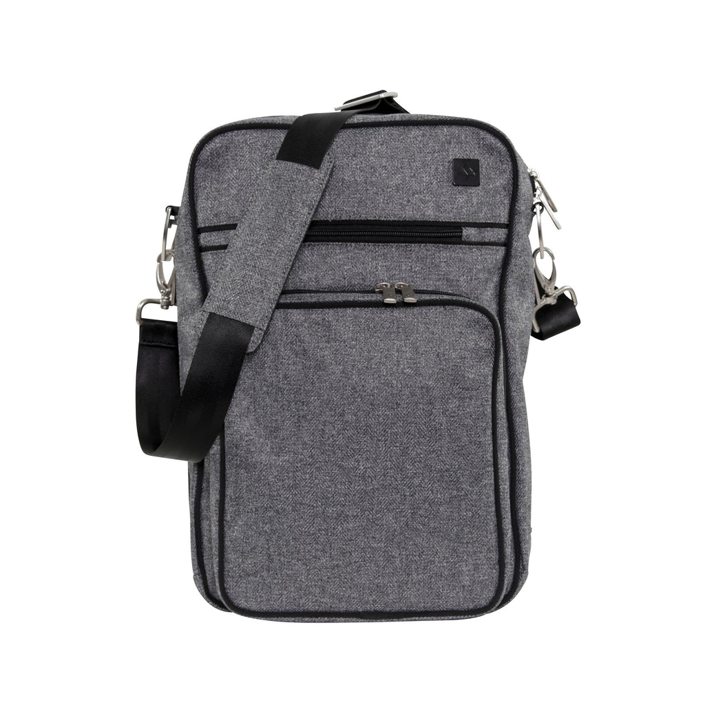 Ju-Ju-Be XY Helix changing bag in Gray Matter *