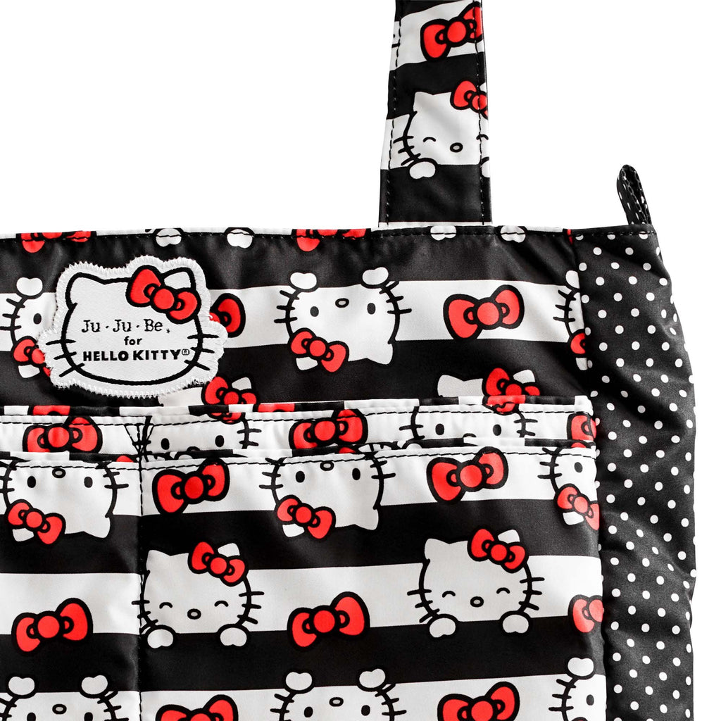 Ju-Ju-Be for Hello Kitty Be Light diaper bag in Dots and Stripes