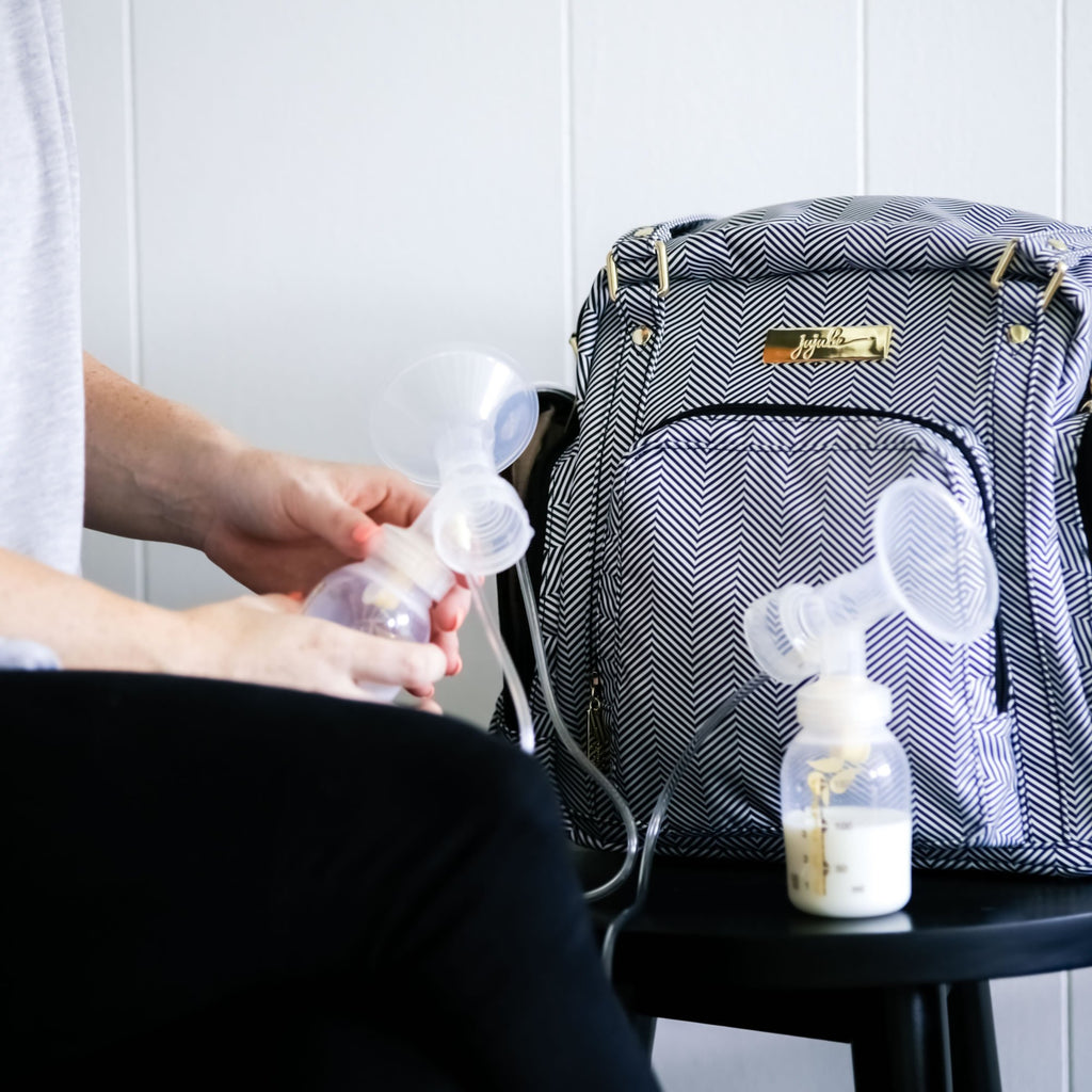Ju-Ju-Be Legacy Be Supplied breast pump bag in the Queen of the Nile *