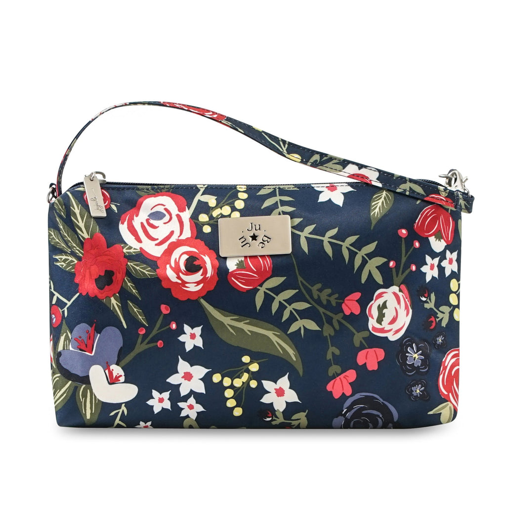 Ju-Ju-Be Be Quick pouch in Midnight Posy *