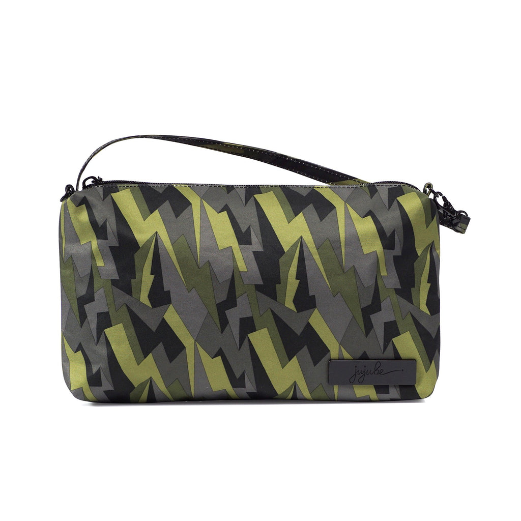 Ju-Ju-Be Onyx Be Quick pouch in Black Lightning