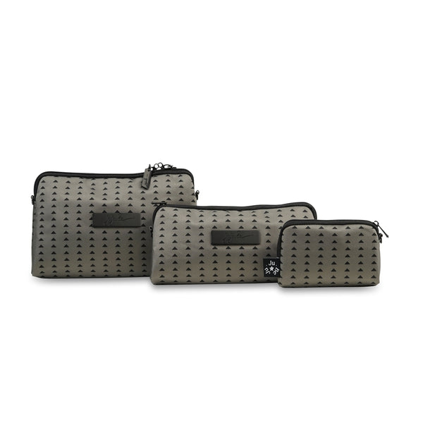 Ju-Ju-Be Onyx Be Set pouch set in the Black Olive *