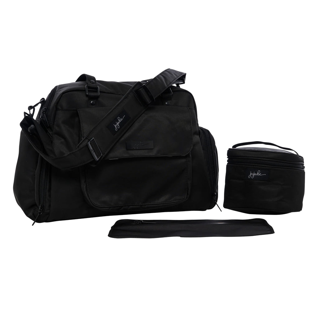 Ju-Ju-Be Onyx Be Pumped breast pump bag in Black Out *