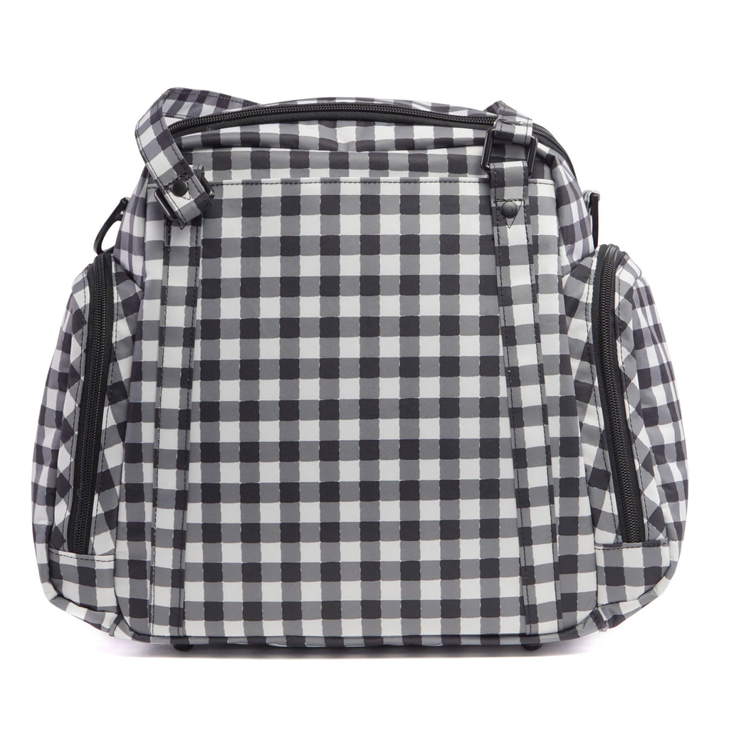 Ju-Ju-Be Onyx Be Supplied breast pump bag in Gingham Style *