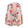 Ju-Ju-Be Rose Gold Be Right Back changing backpack in Forget Me Not *