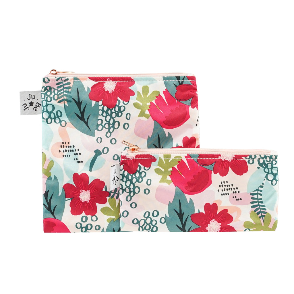 Ju-Ju-Be Rose Be Snacky snack bags in Forget Me Not *