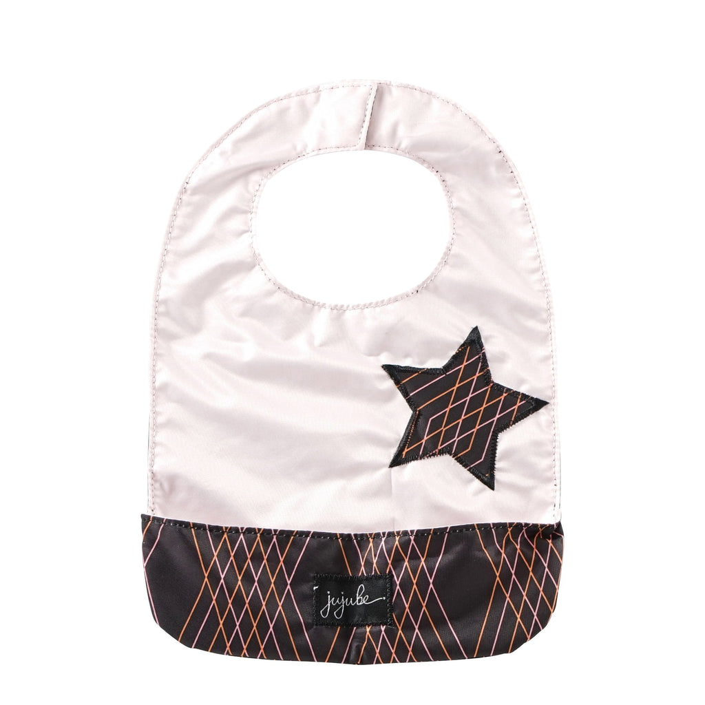 Ju-Ju-Be Rose Gold Be Neat Bib in Prism Rose