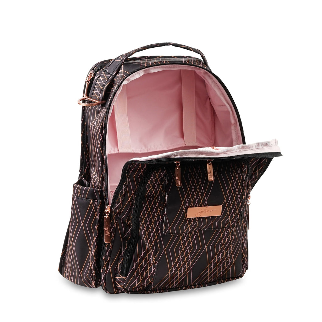 Ju-Ju-Be Rose Gold Be Right Back changing backpack in Prism Rose *