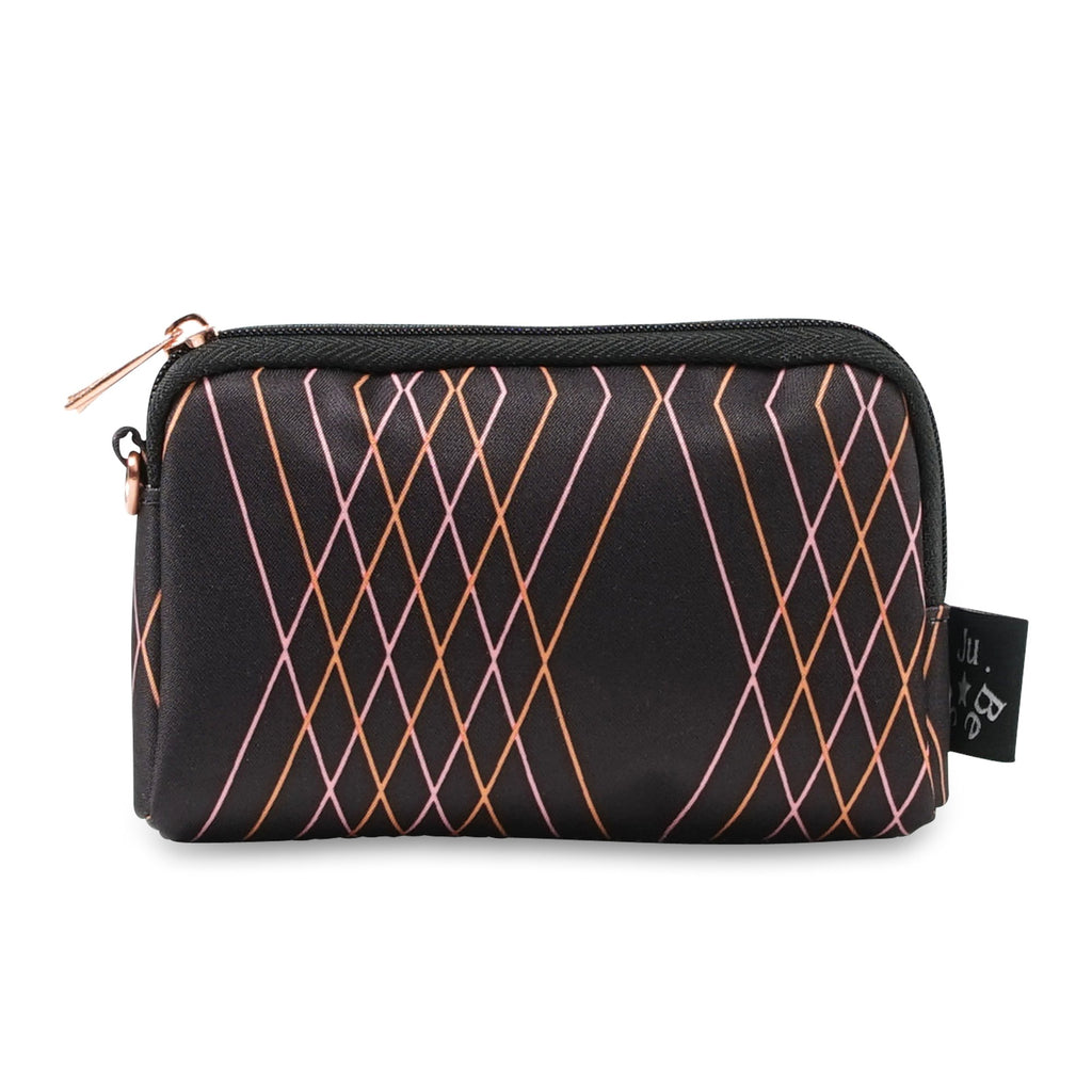 Ju-Ju-Be Rose Gold Be Set pouch set in Prism Rose