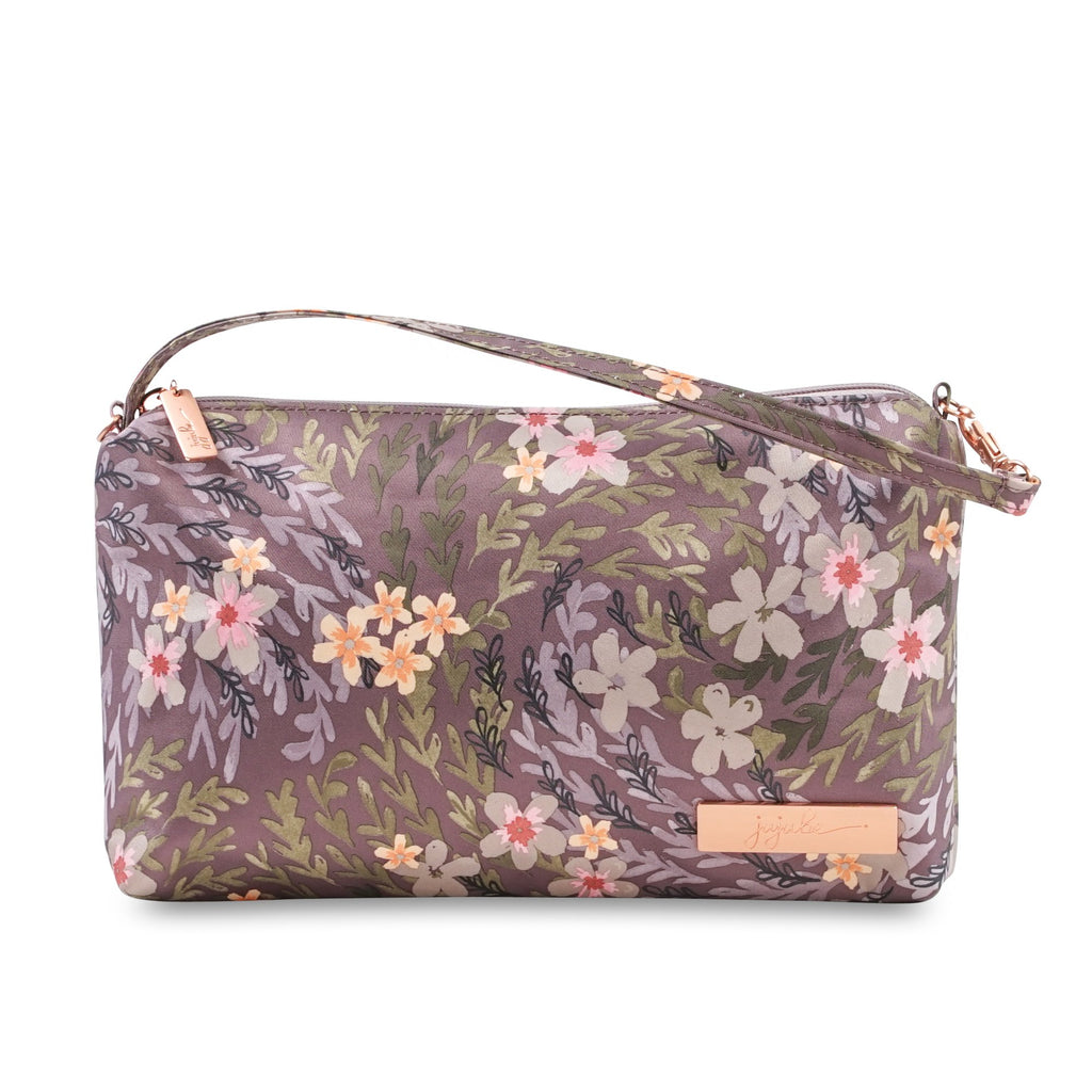 Ju-Ju-Be Rose Gold Be Quick pouch in Sakura at Dusk