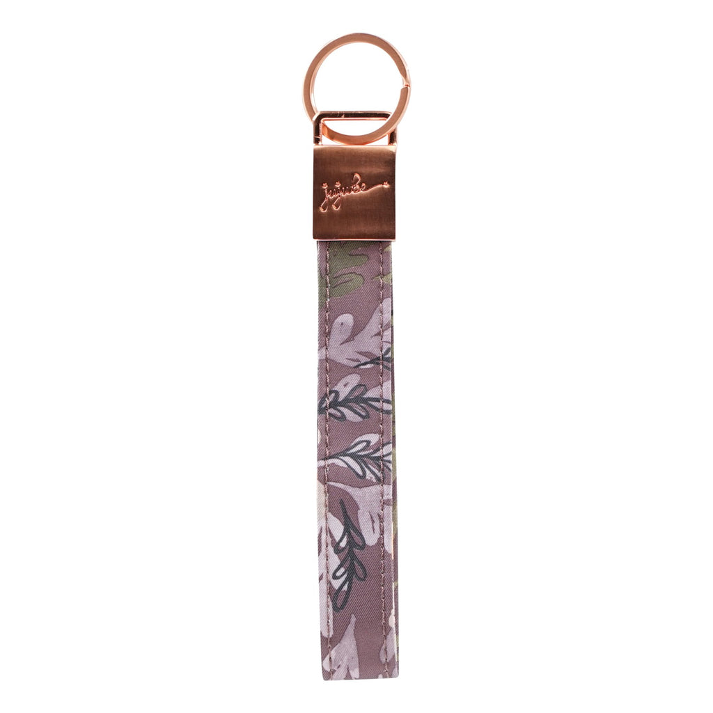 Ju-Ju-Be Rose Gold Wristlet Keychain in Sakura at Dusk *