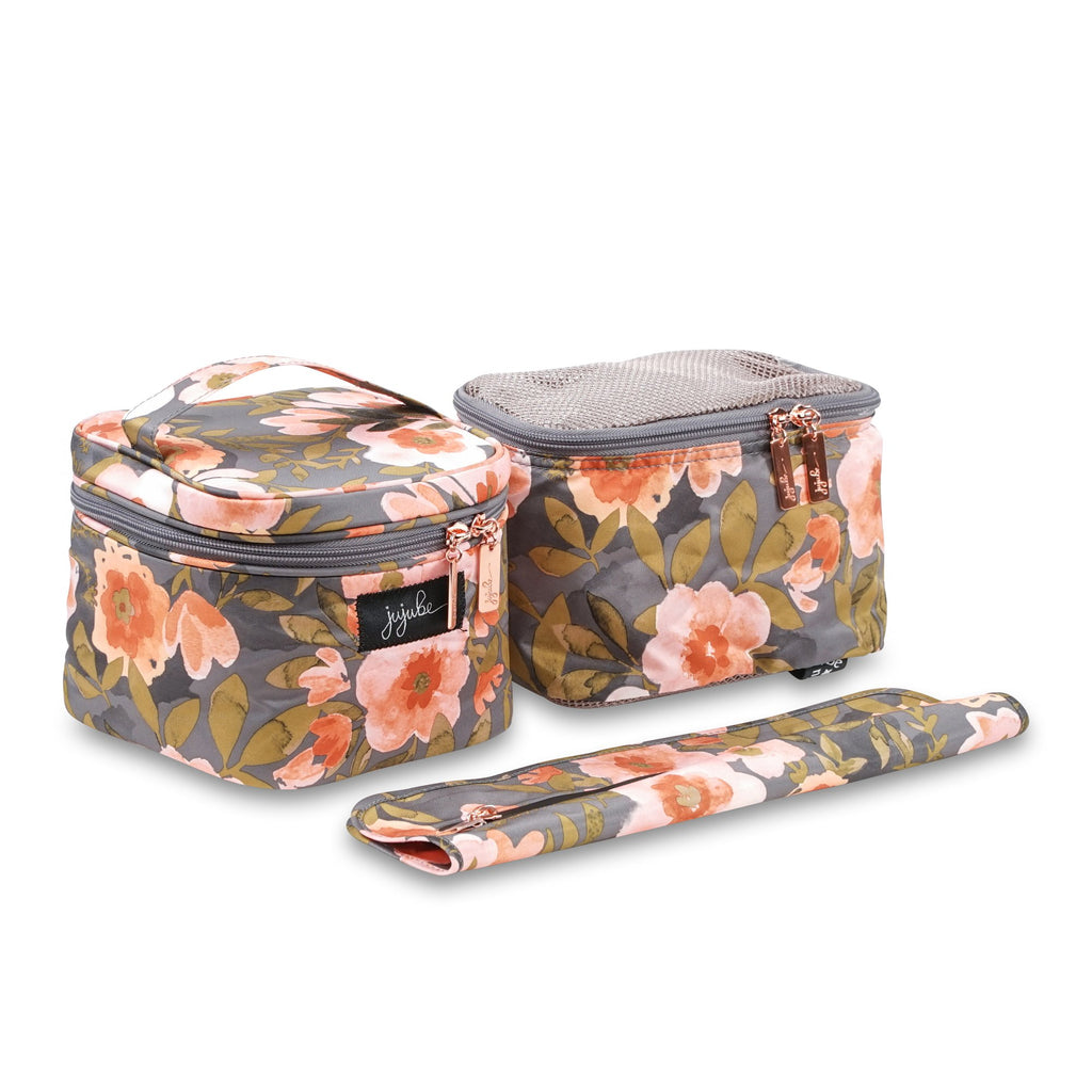 Ju-Ju-Be Rose Gold Be Equipped pump bag accessory set in Whimsical Whisper
