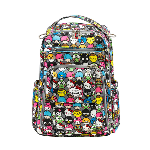 Ju-Ju-Be for Sanrio Be Right Back changing backpack Hello Friends *