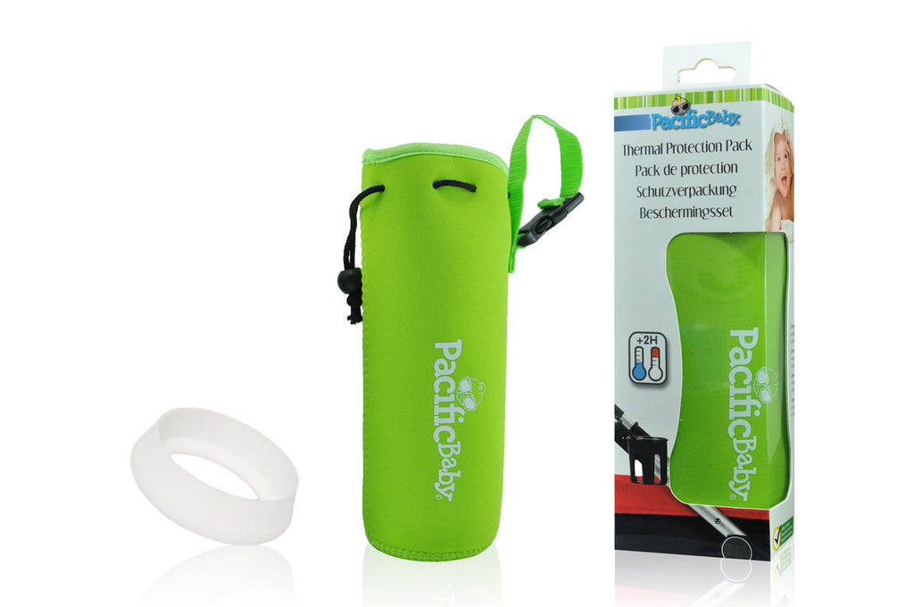 Pacific Baby Bottle Protection Pack, Green